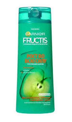 շմպ «Ֆրուկտիս» թուլացած մազերի համար, աճը խթանող,խնձոր   400մլ