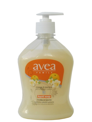 "liquid soap ""Avea""  Orange and jasmine                500ml"