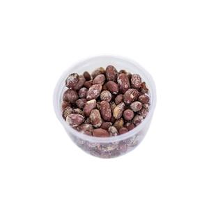 Salted peanuts with peel