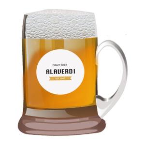 Разливное пиво Алаверди, 1л.