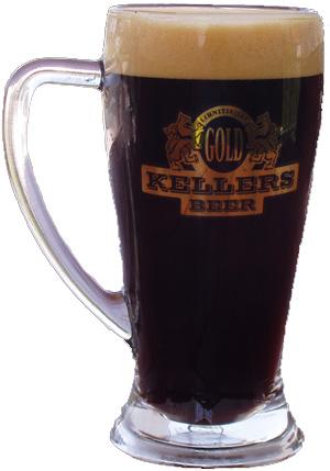 Draft black beer Kellers, 1l.