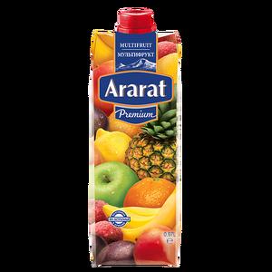 Мультифруктовый нектар Ararat Premium 0.97 л