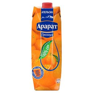 Апельсиновый сок из бразильского апельсина Ararat Premium 0.97 л