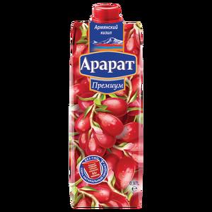 Кизиловый нектар с мякотью Ararat Premium 0.97 л