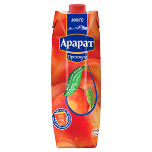 Нектар из манго Ararat Premium 0.97 л
