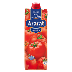 Tomato juice salted with pulp Ararat Premium 0.97 L
