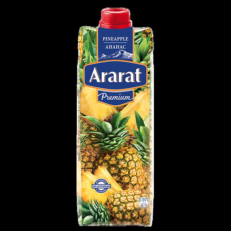 Արքայախնձորի նեկտար Ararat Premium 0.97 լ photo