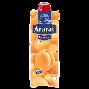 Ծիրանի նեկտար պտղամսով Ararat Premium 0.97 լ