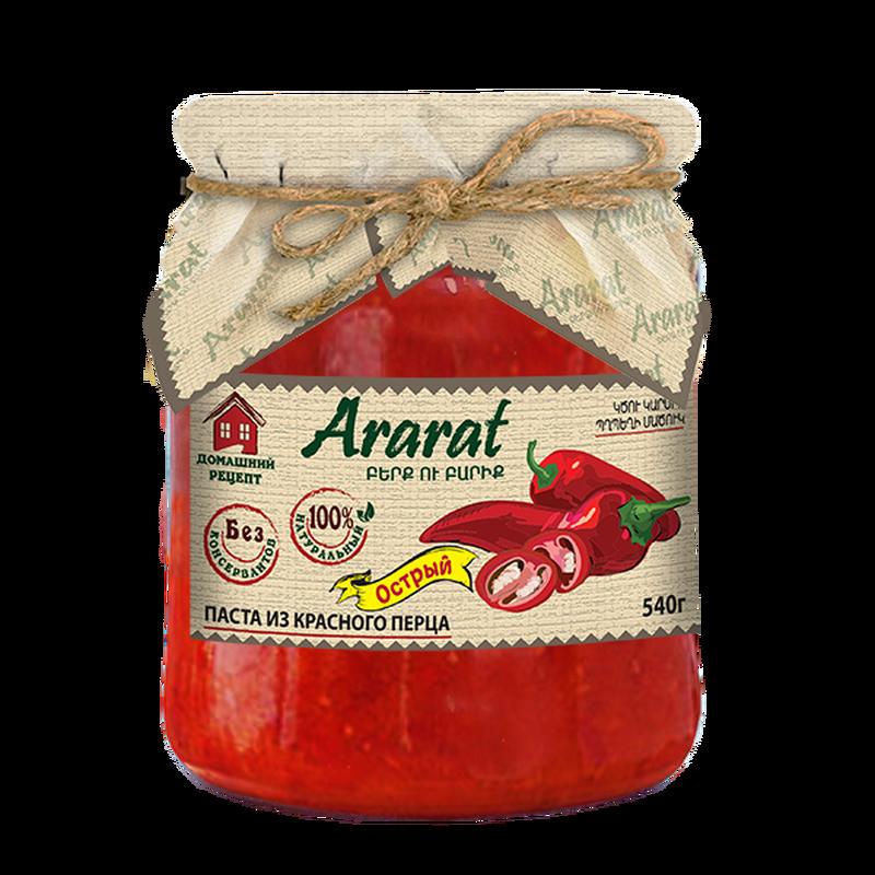 Կծու կարմիր պղպեղի մածուկ Ararat photo