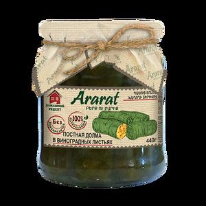 Պասուց տոլմա խաղողի տերևով Ararat
