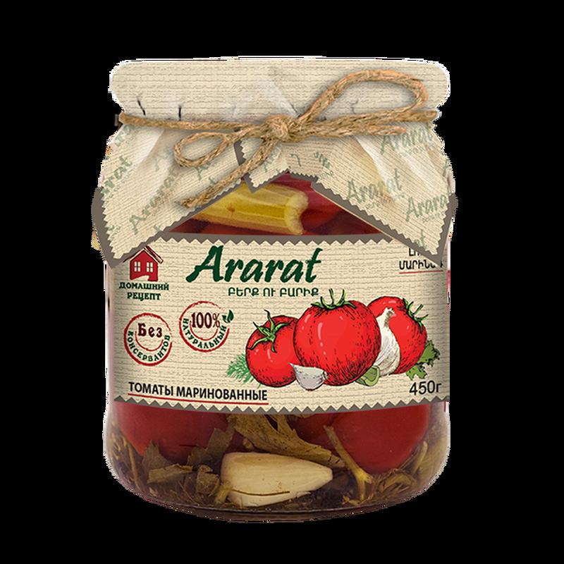 Marinated tomatoes Ararat photo