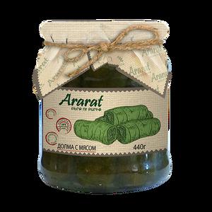Մսով տոլմա խաղողի տերևով Ararat