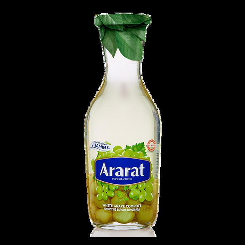 Սպիտակ խաղողի կոմպոտ Ararat 1 լ photo