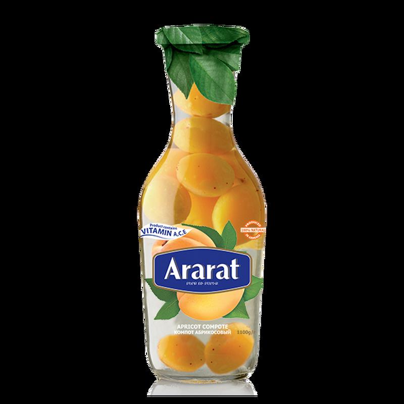 Apricot compote Ararat 1 L photo