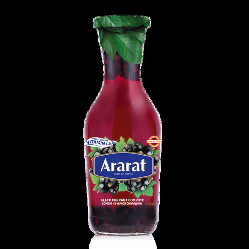 Black currant compote Ararat 1L photo