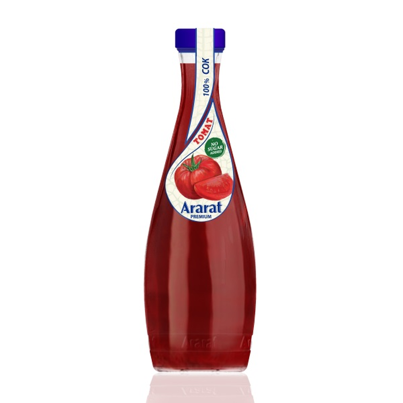 Томатный сок с солью с мякотью Ararat Premium 0.75 л photo