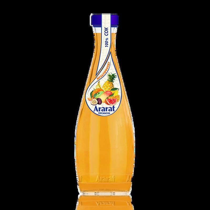 Мультифруктовый сок Ararat Premium 0.75 л photo