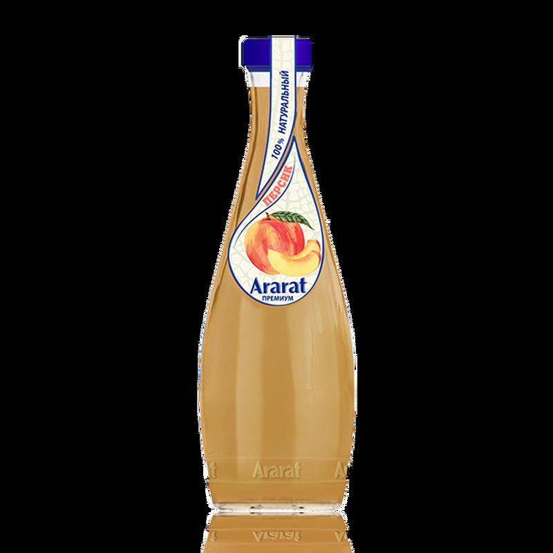 Персиковый нектар с мякотью Ararat Premium 0.75 л photo