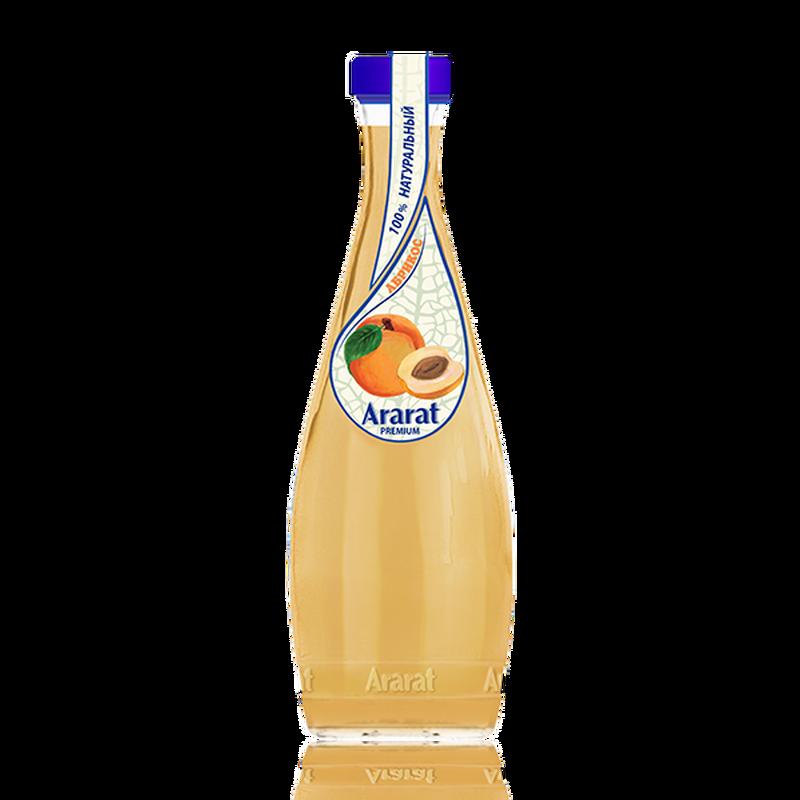 Абрикосовый нектар с мякотью Ararat Premium 0.75 л photo