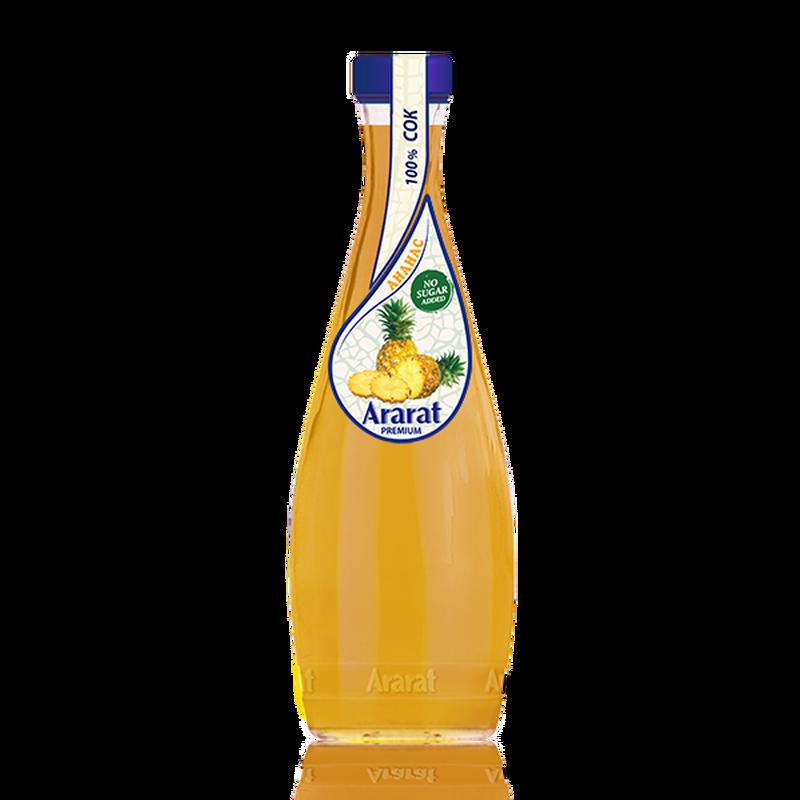 Արքայախնձորի հյութ Ararat Premium 0.75 լ photo
