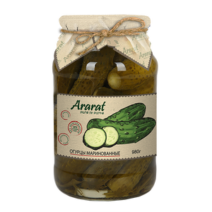 Marinated cucumber Ararat
