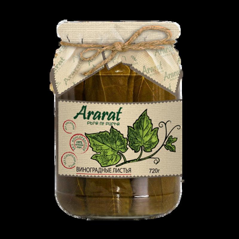 Виноградные листья маринованные Ararat photo