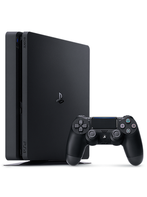 Playstation 4 Slim 1 TB (Սև) photo