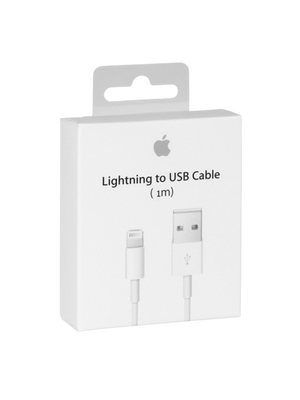 Apple Lightning to USB Cable With Box