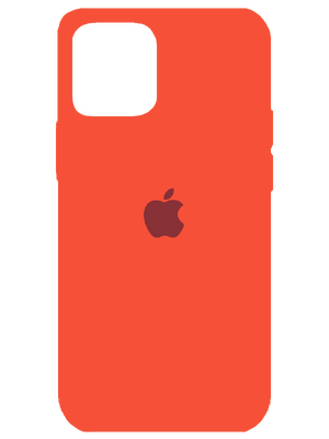 Apple Silicone Case for iPhone 12 Mini (Նարնջագույն)