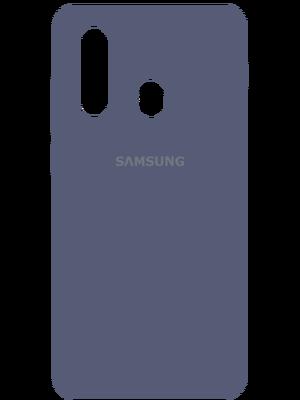 Samsung Silicone Case for Samsung Galaxy A20s (Կապույտ)