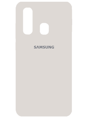 Samsung Silicone Case for Samsung Galaxy A20s (Սպիտակ)