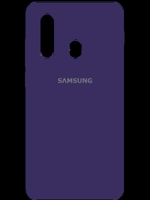 Samsung Silicone Case for Samsung Galaxy A20s (Մուգ Մանուշակագույն)