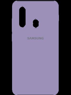 Samsung Silicone Case for Samsung Galaxy A20s (Մանուշակագույն)