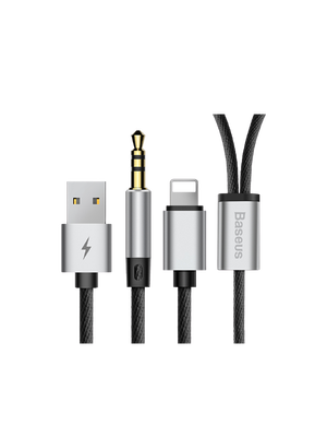 Baseus Apple To 3.5 MM and USB Charging Audio