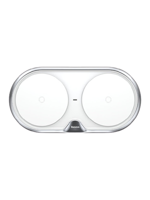 Baseus Dual Wireless Charger (WXXHJ-A01) (Սպիտակ)