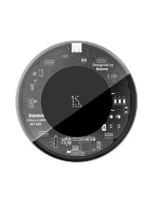 Baseus Wireless Charger Type-C (WXJK-BA02) (Սև) photo