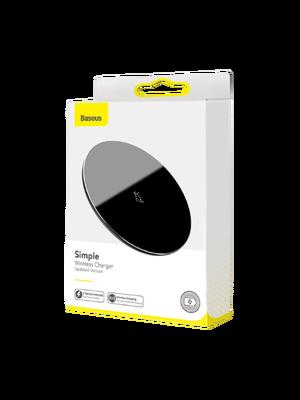 Baseus Simple Wireless Charger Type-C (WXJK-B01) (Սև) photo