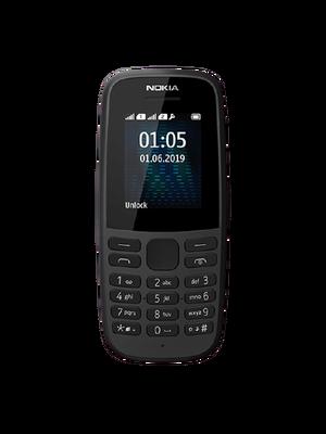Nokia 105 2 Sim (Սև)