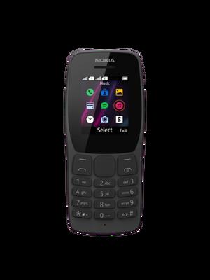 Nokia 110 2 Sim (Սև)