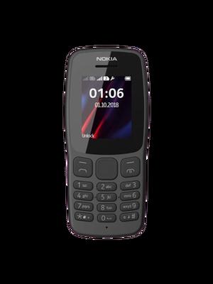 Nokia 106 2 Sim (Սև)