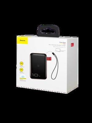 Baseus Mini S Bracklet Wireless Charger and Power Bank (Կարմիր) photo