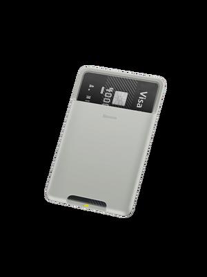 Baseus Case Back Stick Silicone Card Bag
