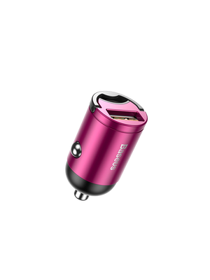 Baseus Quick Car Charger Tiny Star Mini USB Port 30W (VCHX-A04/A0G) (Մանուշակագույն)