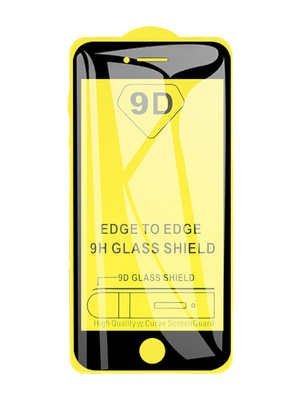 9D Glass for iPhone 7/8/SE (Սև)