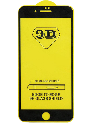 9D Glass for iPhone 7+/8+ (Սև)