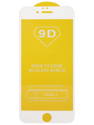 9D Glass for iPhone 7+/8+ (Սպիտակ)