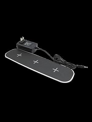 YB-OSANA Triple Qi Wireless Charger Stand 3+ USB