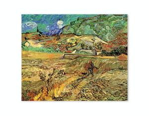 Վինսենթ Վան Գոգ «Ցանկապատված ցորենի դաշտը և գյուղացին» AF168