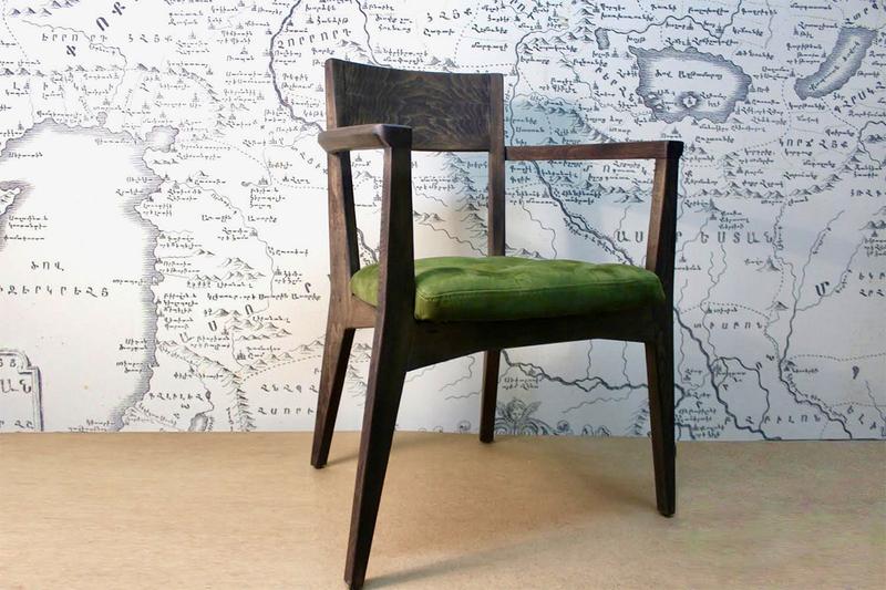 Աթոռ հաճարի փայտից AF143 photo