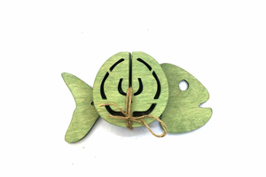 Բաժակի տակդիրների հավաքածու «Ձուկ» AF134